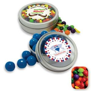 Rim Tin w/ Window Assorted Nitwitz Candy by Color