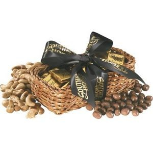Gift Basket w/Chocolate Golf Balls