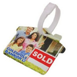 House Luggage Tag