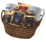 Custom 2 Mug Deluxe Gift Basket