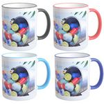 Custom Mug 11oz with Colored Accents - Full Color
