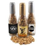 Custom Champagne Bottle with Peanuts