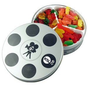 Movie Reel Tin- Confections
