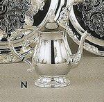 Custom Romantica Collection Silver Teapot