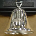 Custom Silver Plated Bell