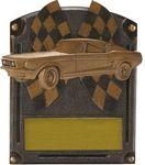 Custom Auto Racing Hall of Fame Series Award (6