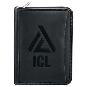 Millennium Leather Jr. Zippered Padfolio