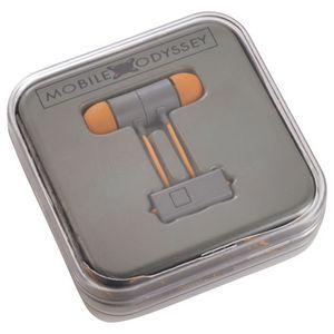 Mobile Odyssey Nova Clip Ear Buds with mic