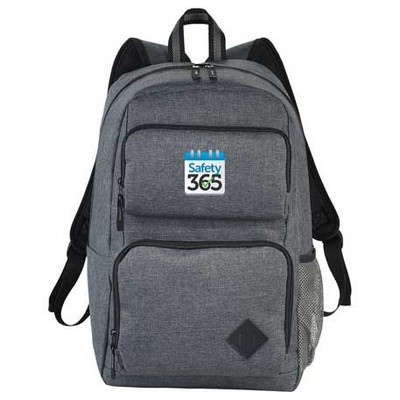 "Graphite Deluxe 15"" Computer Backpack"