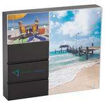 Custom CLEARANCEBlack Acrylic Double Frame