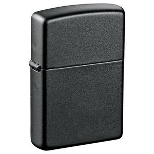 Custom Zippo Windproof Lighter Black Matte