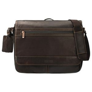 Kenneth Cole® Colombian Leather Computer Messenger