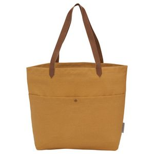 Custom Field & Co. 16 oz. Cotton Canvas Book Tote