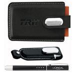 Custom Executive USB Flash Drive Gift Set 1GB