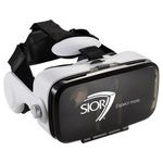 Custom Virtual Reality Headset with Headphones