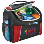 Custom Peak 6 Can Lunch Cooler Bag