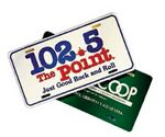 Custom Poly License Plate (0.023 Gauge)