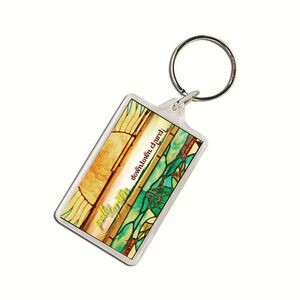 Rectangle Acrylic Keytag