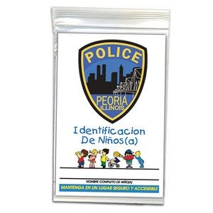 Child ID Finger Print Kit with Dental Chart (Spanish)