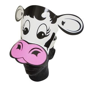 Cow Headband with stock graphic