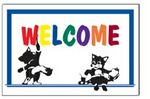 Custom Welcome Stock Postcard (4