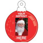 Custom Holiday Fun Small Ornament Photo Frame (3 3/4