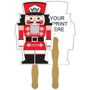 Holiday Fun Nutcracker Fan w/ Stocking Cap