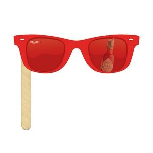 "Sunglasses with 6"" Stick"