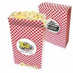 Custom Large Closed Top Style Popcorn Box