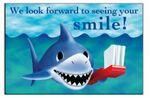 Custom Smiling Shark Stock Postcard (4