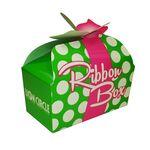 Custom Ribbon Box Offset Printed Donut Box