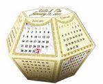 Custom Wedding Save the Date Stock Design Popup Calendar