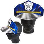 Custom Police Poster Board Caps w/ Elastic Band