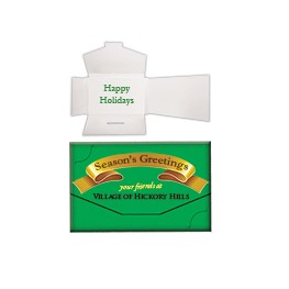 "Offset Thank You Gift Card Box (3 1/4""x2 1/2""x1/4"")"