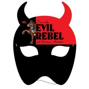 Devil Mask w/ Elastic Band