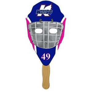 Hockey Mask Hand Fan Full Color (1 Side)