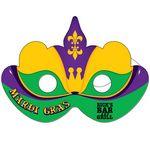 Custom Mardi Gras Mask w/ Elastic Band