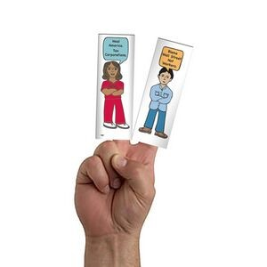 Finger Puppet/Paper Doll Card