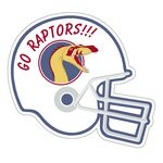 Custom Large Football Helmet Outdoor Magnet