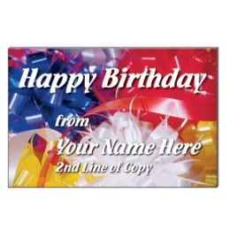 "Happy Birthday Stock Postcard (4""x6"")"