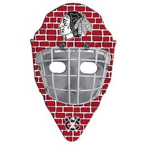 "Hockey Mask Paper Window Sign (Approximately 8""x8"")"