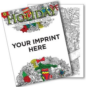 Holiday Coloring Book For Adults