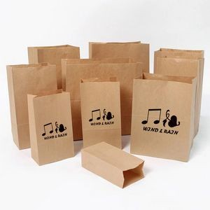 Kraft Brown Paper Barrel Sack Bag