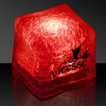 Custom Red Lited Ice Cube
