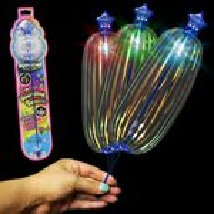 Custom Sparkle LED Spinner Wand
