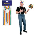 Custom Rainbow Suspenders