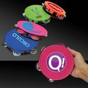 Custom Plastic Neon Tambourine