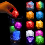 Custom Lited Ice Cubes - Solid Colors Only