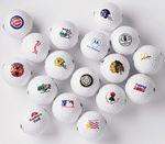Custom Generic Blank White Golf Ball - One Dozen Bulk Balls