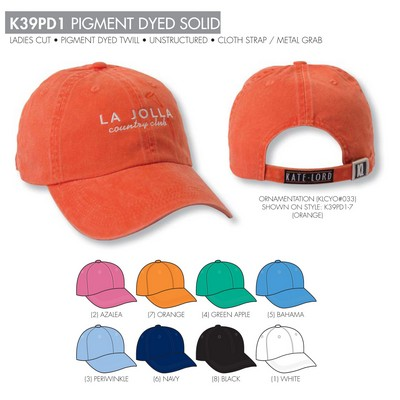 Kate Lord Athletic Solid Cap - Blank